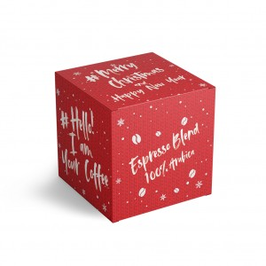 KARTONIK MERRY CHRISTMAS 200 g THE ESPRESSO BLEND