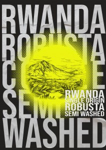 RWANDA SINGLE ORIGINAL -SEMI WASHES 500G 100% ROBUSTA